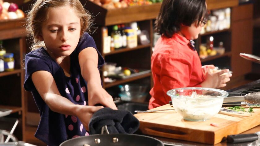 """Young cooks compete in the new season of """"MasterChef Junior,"""" beginning Thursday on Fox."""