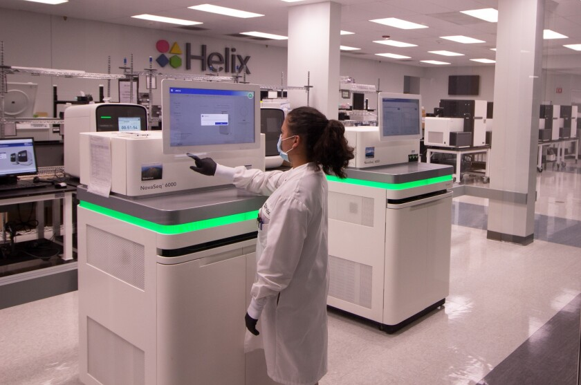 Helix received a $33.4 million grant from NIH