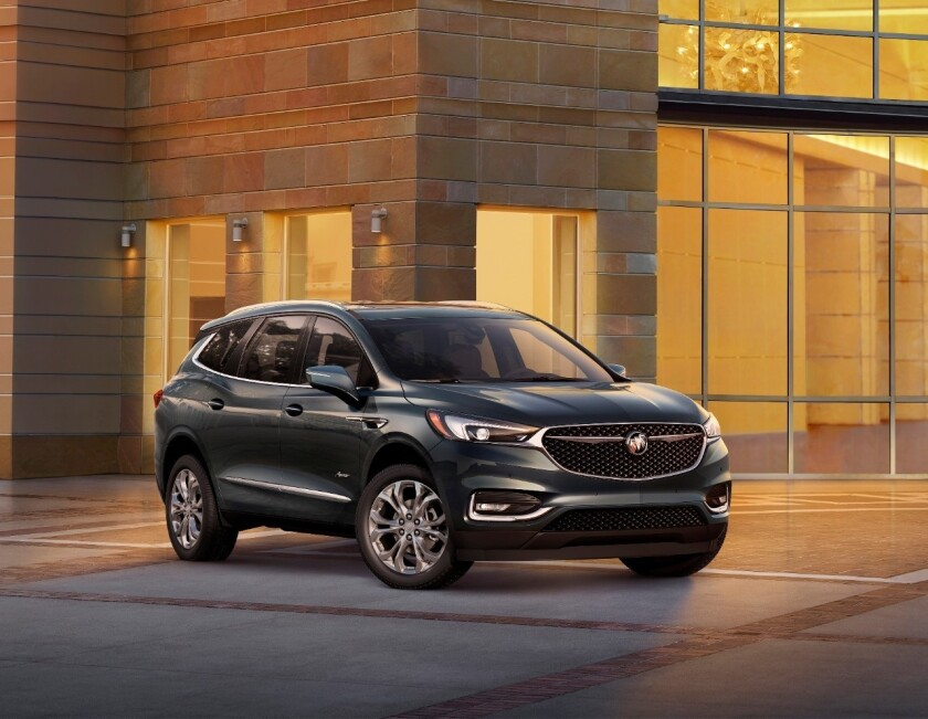 El Buick Enclave está disponible en cuatro modelos, Base, Essence, Premium y el que probé, el Avenir.