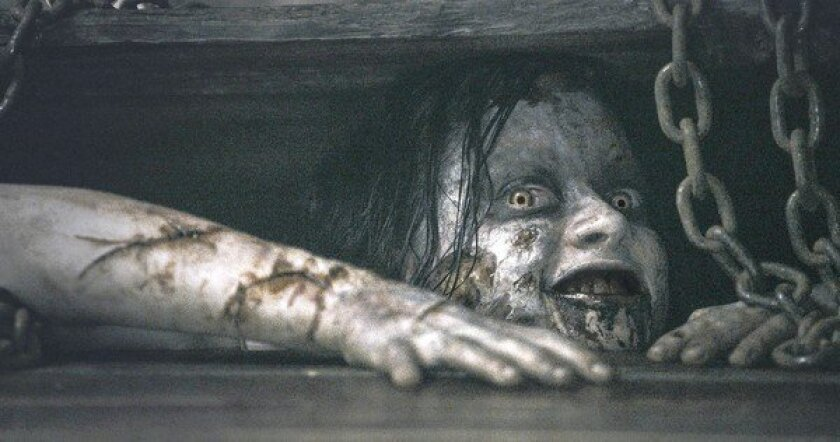 """Jane Levy in TriStar Pictures' horror movie """"Evil Dead."""""""