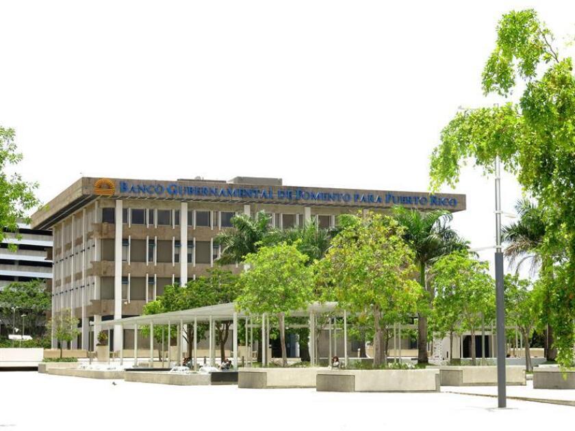 En la foto aparece el edificio del Banco Gubernamental de Fomento de Puerto Rico situado en el distrito de Santurce en San Juan, Puerto Rico. EFE/Archivo