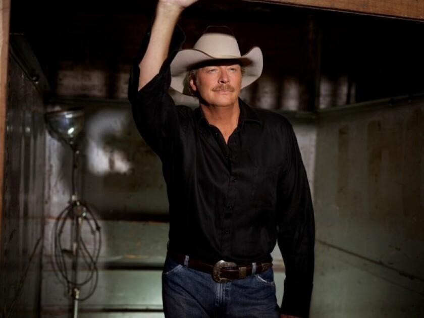 Country singer Alan Jackson
