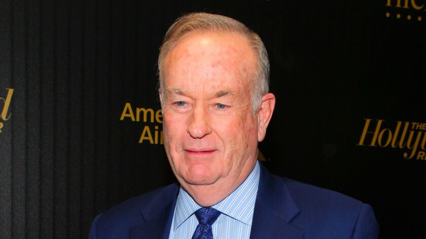 """FILE - In this April 6, 2016, file photo, Bill O'Reilly attends The Hollywood Reporter's """"35 Most Po"""