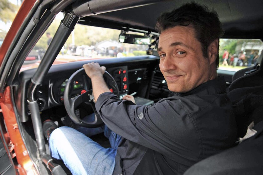 Comic Adam Ferrara takes a break from his busy acting and hosting career for a comedy tour, including a stop Saturday at Flappers in Burbank.
