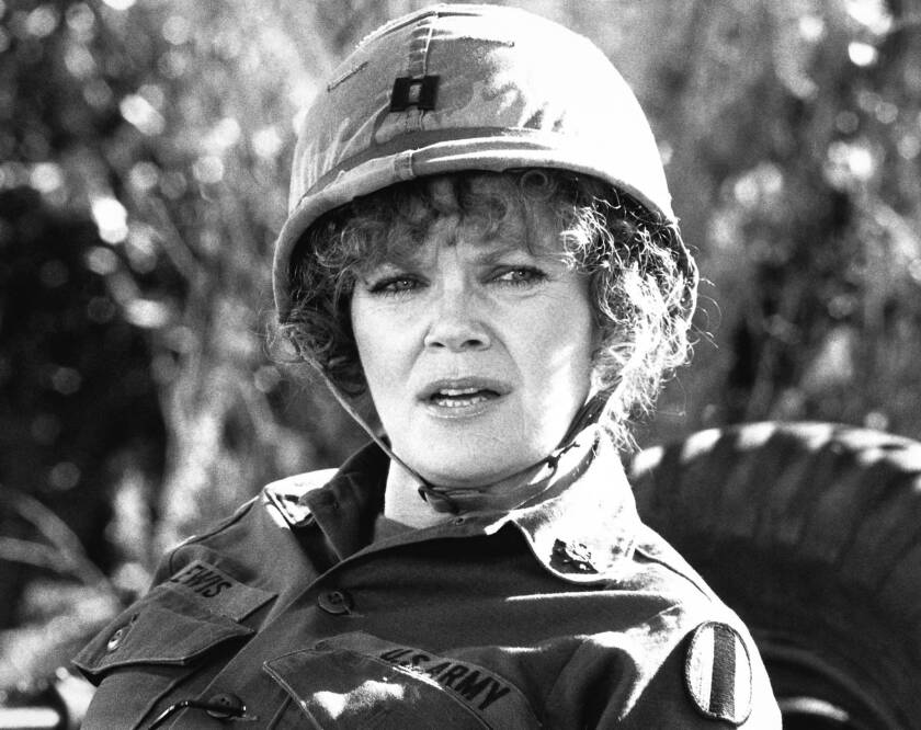 """Eileen Brennan was nominated for an Oscar for her portrayal of Capt. Doreen Lewis in 1980's """"Private Benjamin."""" Brennan also appeared in """"The Last Picture Show"""" and """"The Sting."""""""