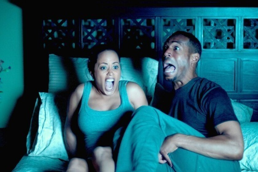 """Marlon Wayans and Essence Atkins star in """"A Haunted House."""""""