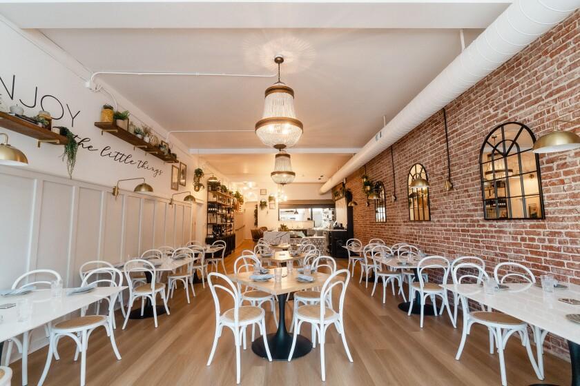 Verbena Kitchen restaurant opened July 14 in North Park.