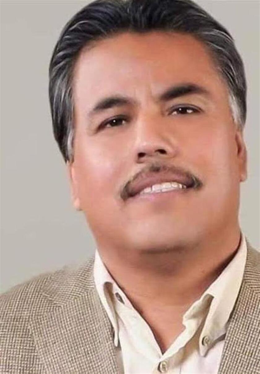 Fotografía sin fecha cedida hoy domingo 17 de marzo de 2019 por la Red Sonora de Periodistas (RSP) del comunicador mexicano Santiago Barroso, de la ciudad de San Luis Río Colorado, en el estado de Sonora, noroeste de México. EFE/RSP/SOLO USO EDITORIAL/ MEJOR CALIDAD DISPONIBLE