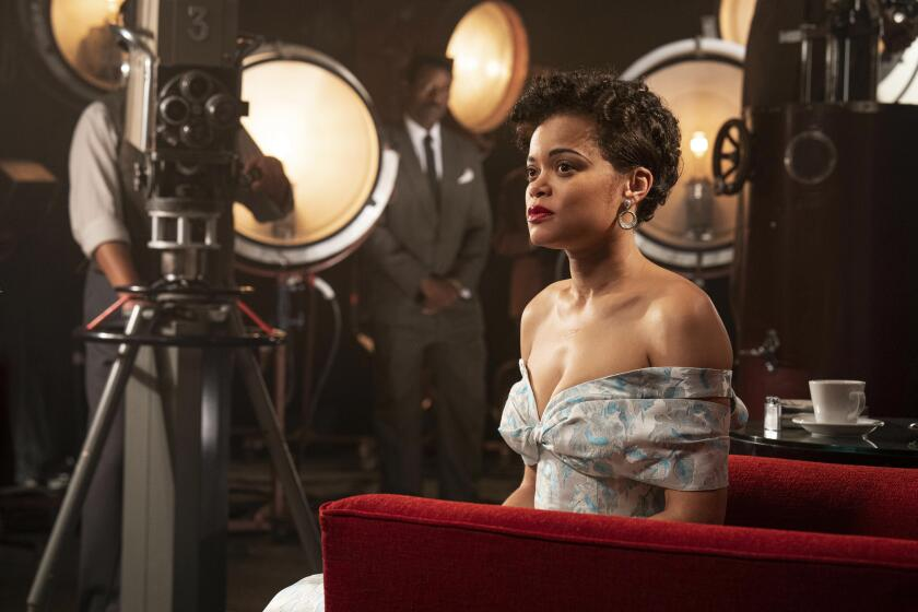 """En esta imagen proporcionada por Hulu Andra Day en """"The United States vs Billie Holiday."""""""