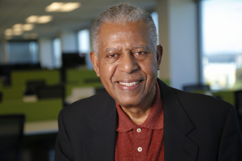 Walter Davis served in the Navy for more than 30 years, retiring as vice admiral. He then went on to co-found EvoNexus, a nonprofit San Diego business incubator.