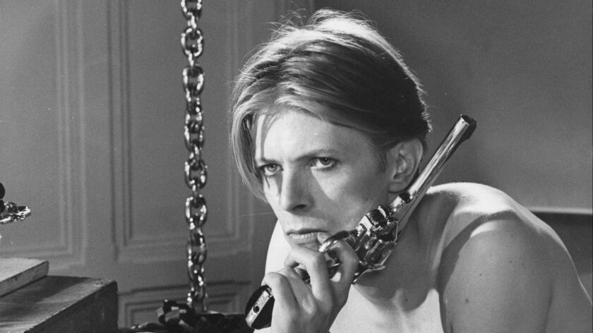 """David Bowie in the movie """"The Man Who Fell to Earth."""""""