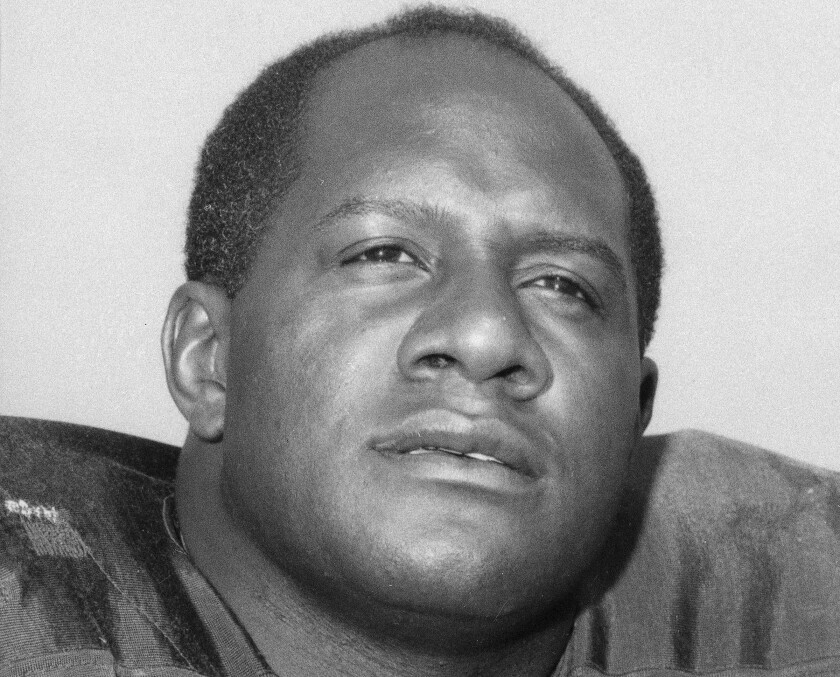 This is a 1966 file photo showing Green Bay Packers' Willie Davis.