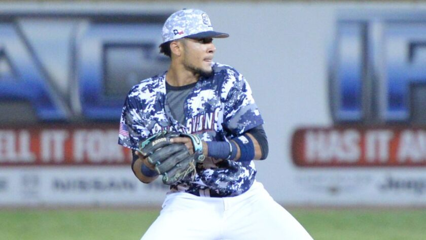 Padres shortstop Fernando Tatis Jr. was promoted from low Single-A Fort Wayne to Double-A San Antonio for the Missions' 2017 playoff run