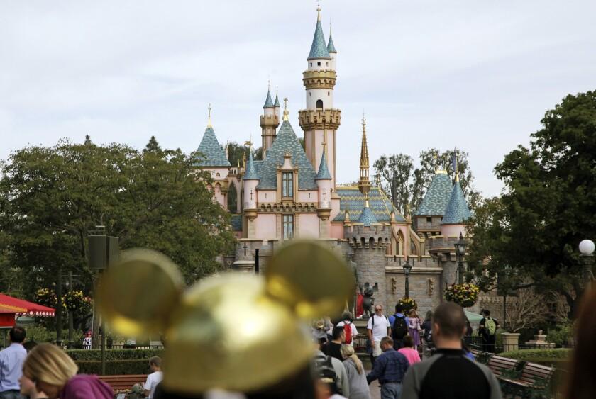 Measles Disneyland