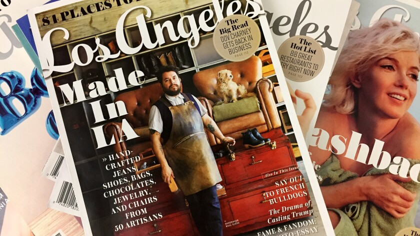 Los Angeles magazine and Orange Coast magazine have been sold to Hour Media Group.