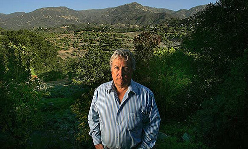 Ralph Daniel likes living on the fringes of Mission Canyon just outside Santa Barbara, where limited exit routes heighten the fire danger.
