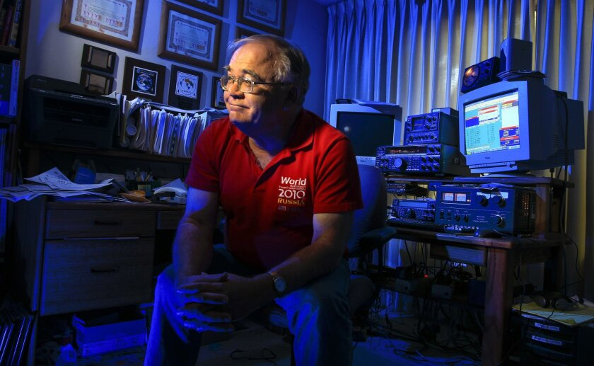 John Barcroft headed to Boston this week for 2014 World Radiosport Team Championship competition, the World Cup of amateur radio, a quirky round-the clock contest featuring 59 two-person teams from 38 countries.