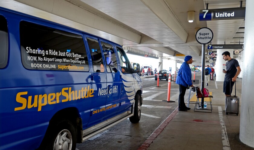 SuperShuttle announces it's ending operations Dec. 31
