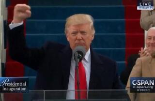 President Trump's Inauguration Speech