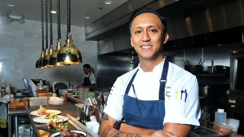 Phillip Esteban, executive chef at The Cork and Craft.