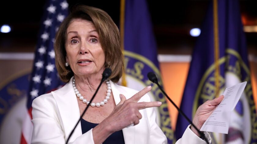 After narrowly winning her seat in a 1987 special election, House Democratic leader Pelosi has been