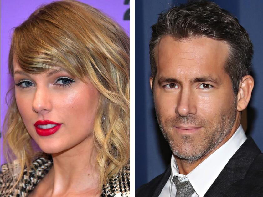 Taylor Swift and Ryan Reynolds