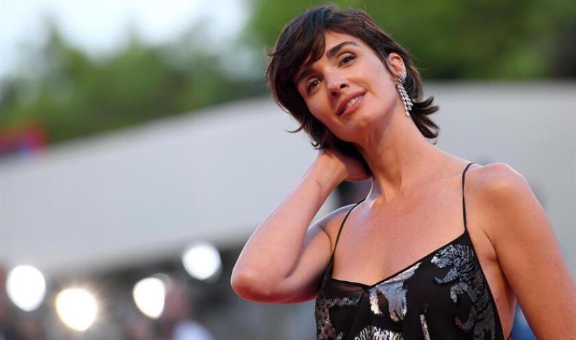 """La actriz española Paz Vega posa durante el estreno de la cinta """"Roma"""". EFE/Archivo"""