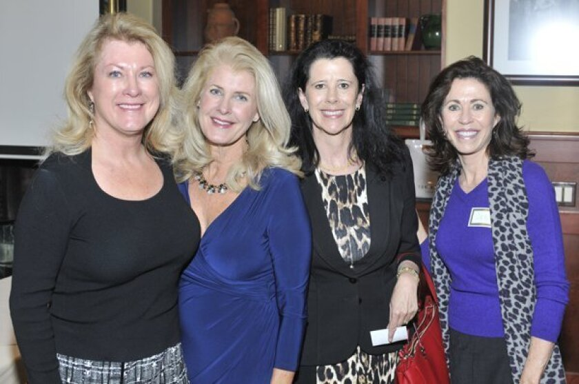 Marian Benassi, Deborah Sims, Carlie Headapohl and Jennifer Dunn Courtesy photo