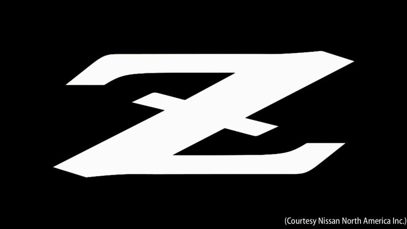 Introducing the 2023 Nissan Z (NOTE: Z LOGO)