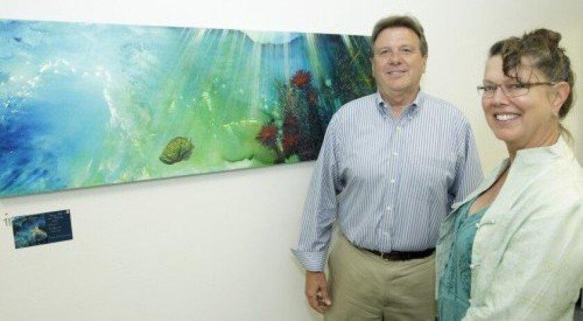 David Ott and Tina Christiansen