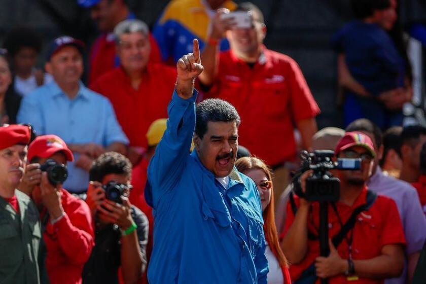 """Estados Unidos denunció hoy la decisión del Consejo Nacional Electoral (CNE) de Venezuela de convocar """"unilateralmente"""" las presidenciales para el 22 de abril """"sin garantías"""" de que sean """"justas, libres y validadas internacionalmente"""", y prometió seguir presionando a Caracas. EFE/Archivo"""