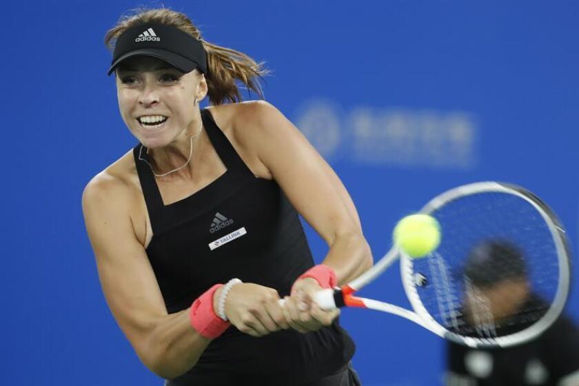 En la imagen, la tenista estonia Anett Kontaveit. EFE/Archivo