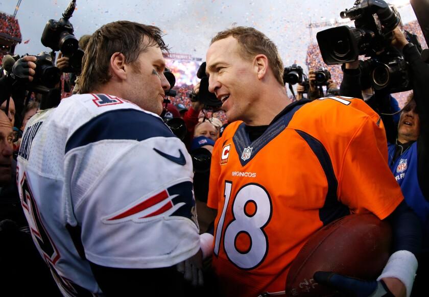 AFC Championship - New England Patriots vs. Denver Broncos