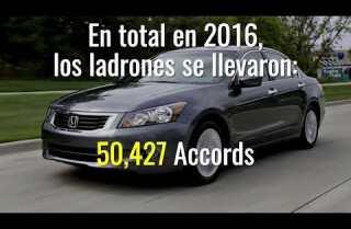 Autos más robados en 2016