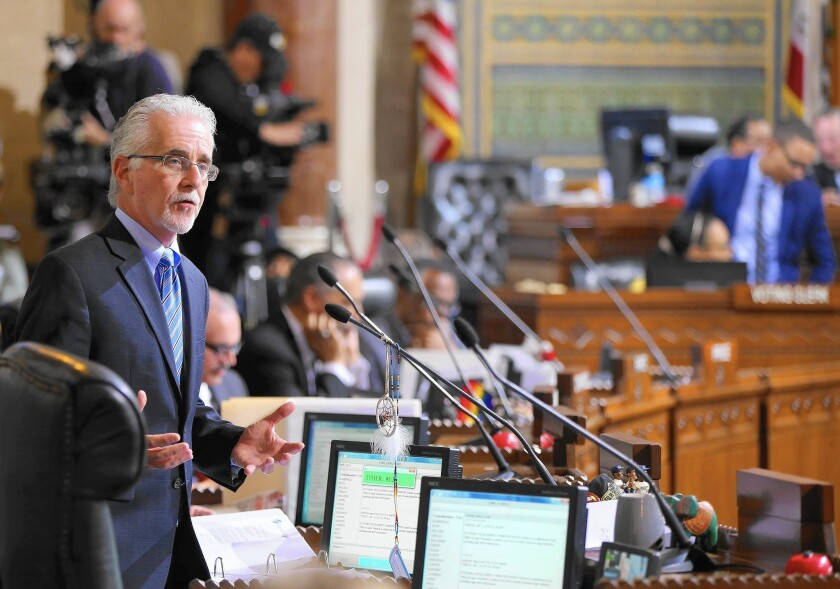 Los Angeles City Council member Paul Krekorian wants to move a proposed gun-lock law out of committee and to the full council.
