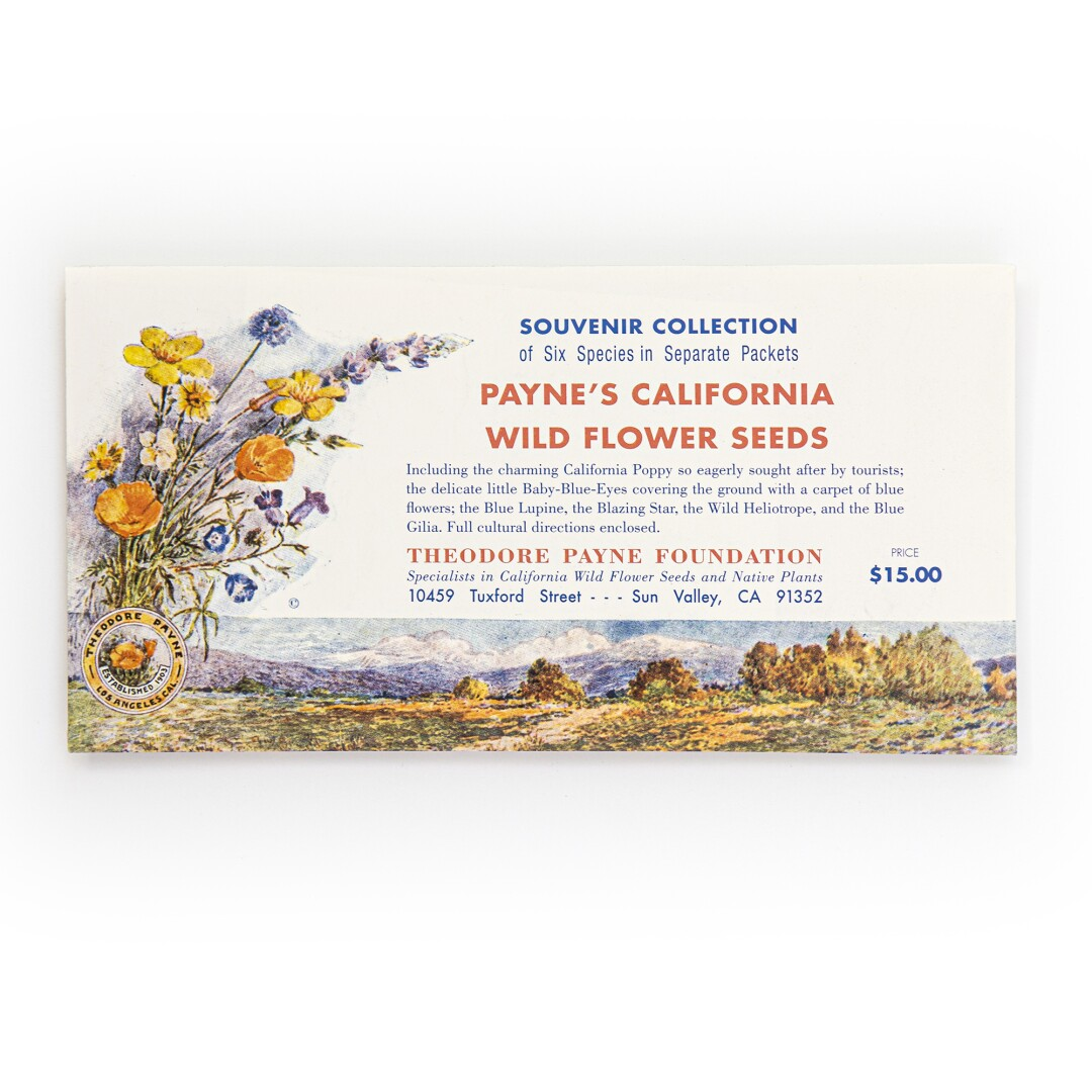 Souvenir Seed Collection from Theodore Payne