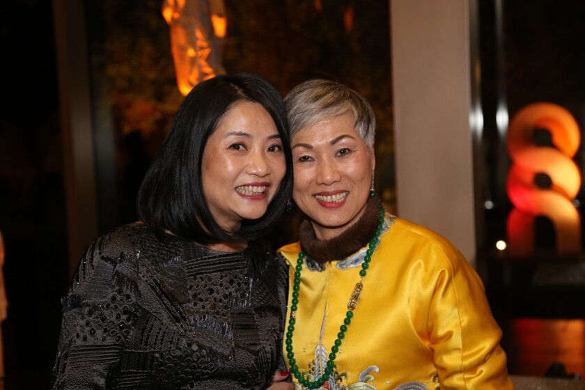 Guo Pei and Anne Shih