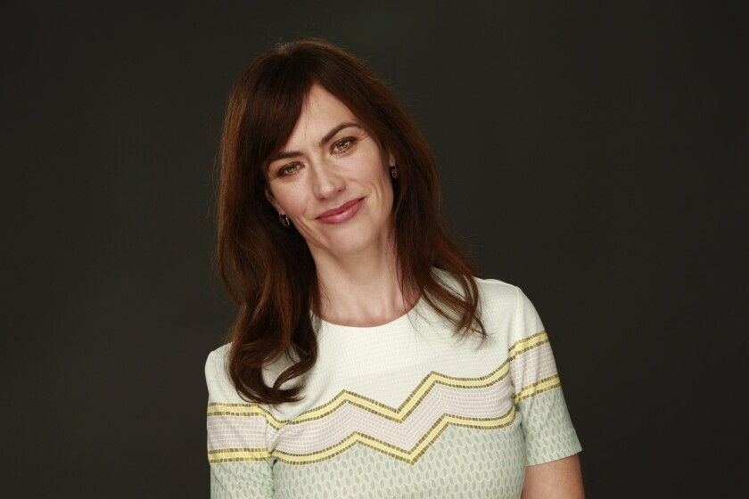 """In Billions,"""" Maggie Siff plays a therapist to a hedge fund guru who moonlights as a dominatrix."""