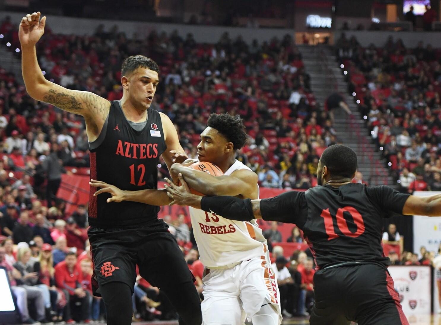 Aztecs hit 21 in Las Vegas, set school record with win over UNLV