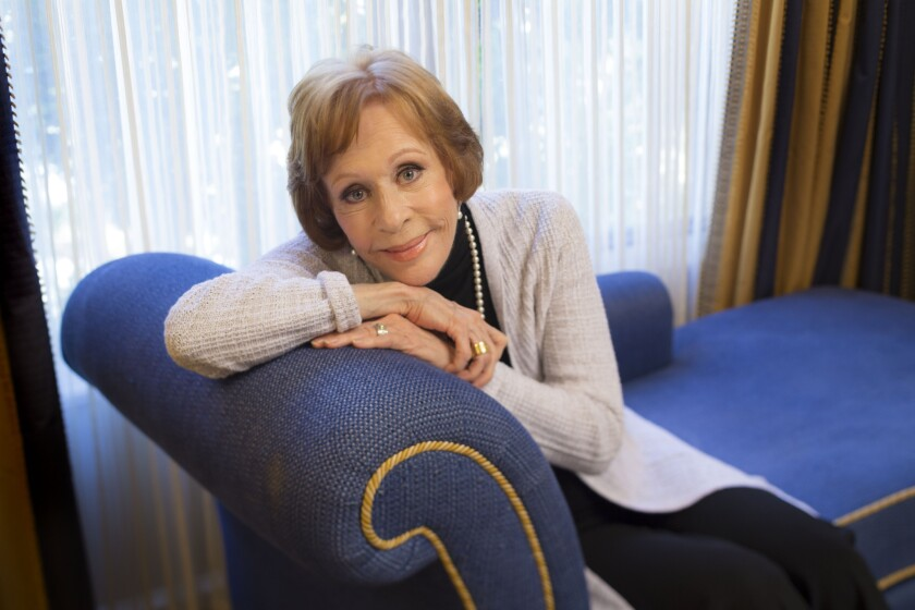 Carol Burnett, photographed in Pasadena in January, may return to television in a sitcom or special produced by Amy Poehler.