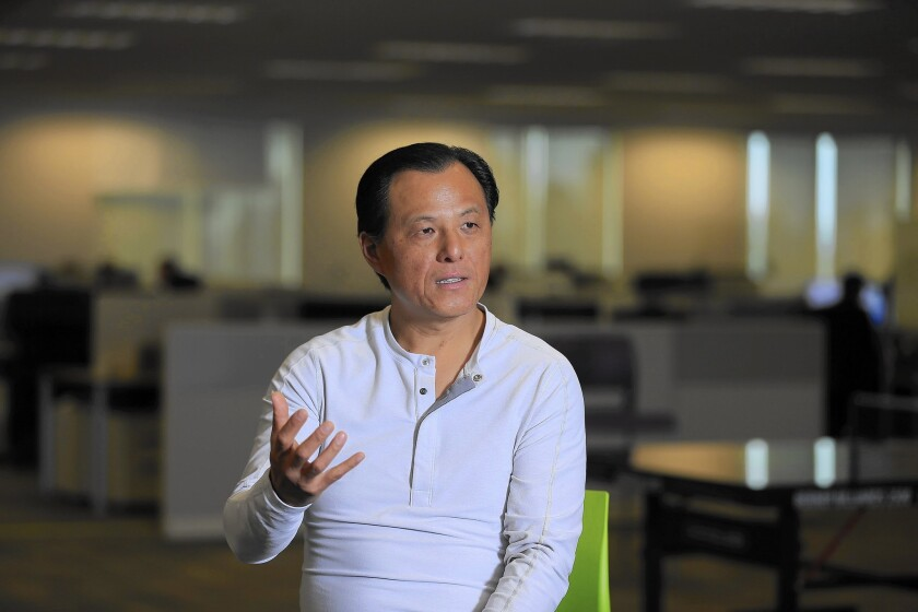 Anthony Hsieh, LoanDepot's founder and chief executive, hopes to allow borrowers to get mortgages through a completely online process, something he has been striving for since the late 1990s.