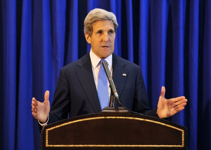 John Kerry announces unexpected break in Israeli-Palestinian talks