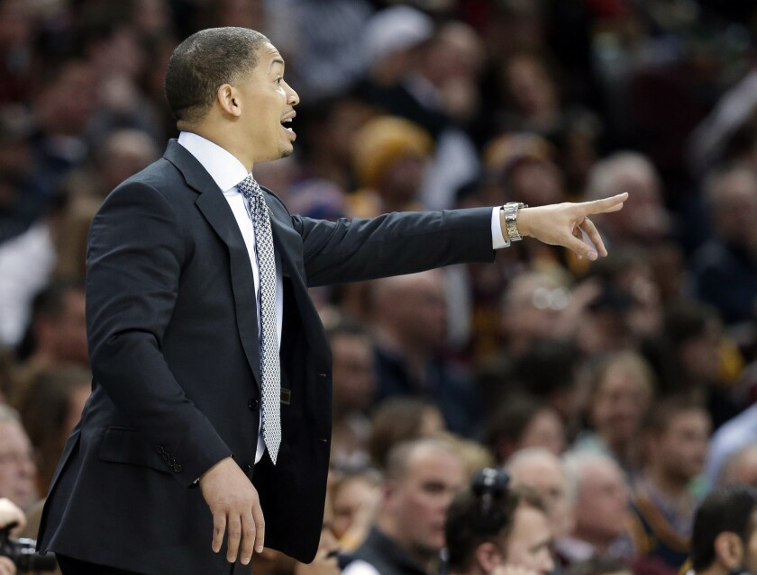 Cleveland Cavaliers defeat Minnesota Timberwolves, give new Coach Tyronn Lue his first win