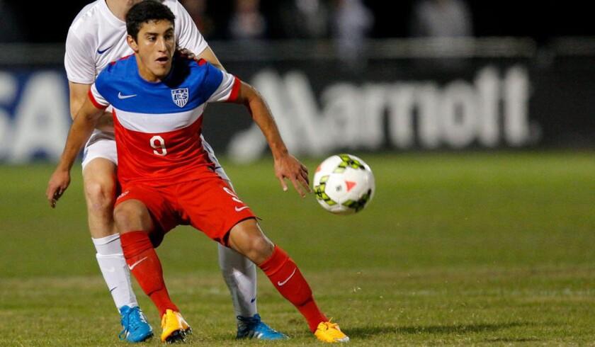 Alejandro Zendejas, capitán con el seleccionado de EEUU en el Mundial Sub 17.