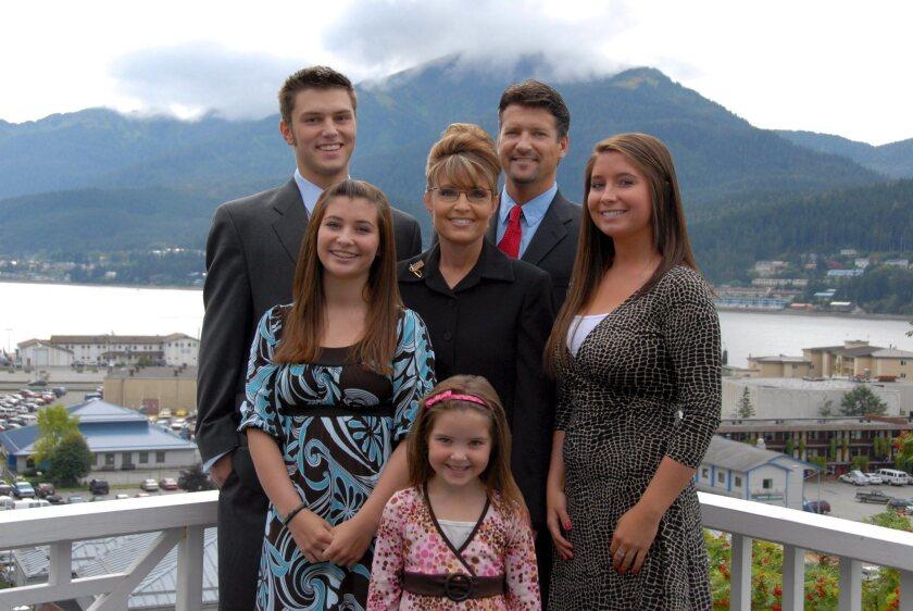 Sarah Palin's oldest son arrested in domestic violence case