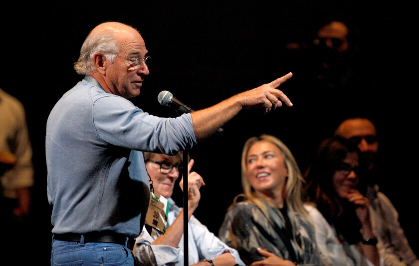 Jimmy Buffett at Vanity Fair New Establishment Summit
