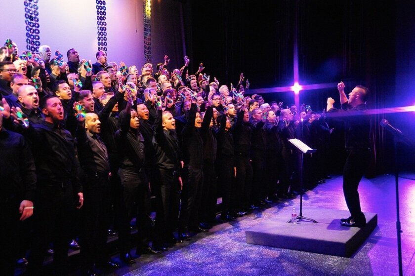 La Jolla Symphony & Chorus will be joined by 70 members of the San Diego Gay men's Chorus for the Berlioz.
