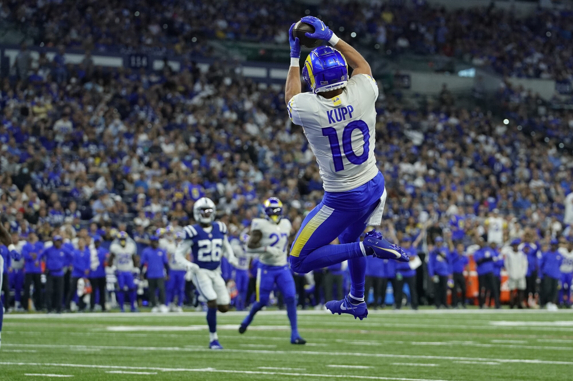 Cooper Kupp has another big day in Rams' win over Colts - Los Angeles Times
