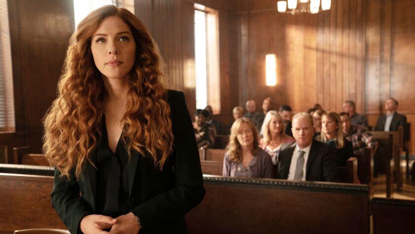 "PROVEN INNOCENT: Rachelle Lefevre in the ""The Burden of Truth"" episode of PROVEN INNOCENT airing Fri"