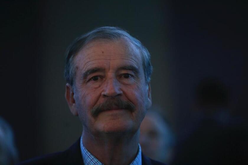 El expresidente de México Vicente Fox. EFE/Archivo